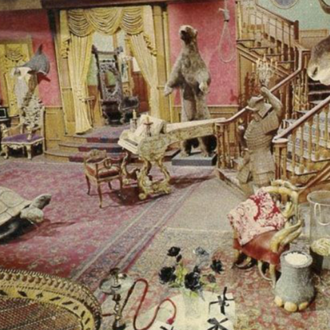 the addams family set as youve never seen it before addams family set