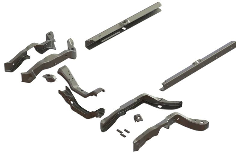 1968-72 Chevrolet Chevelle Replacement Frame Kit