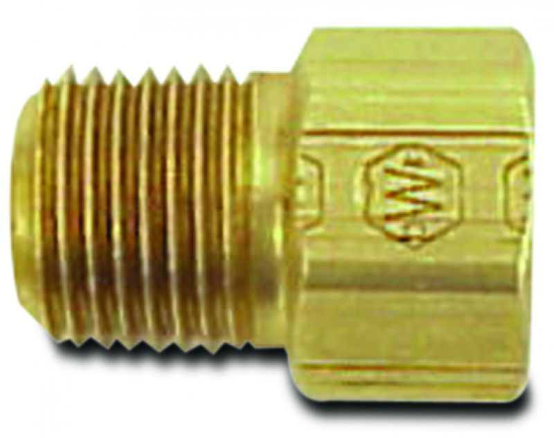 """Fitting 1/8"""" NPT 3/16"""" Inverted Flare Straight"""