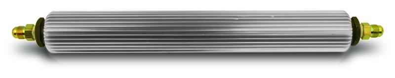 Aluminum Power Steering Fluid Cooler In-Line Design 14-3/4 Inches Long