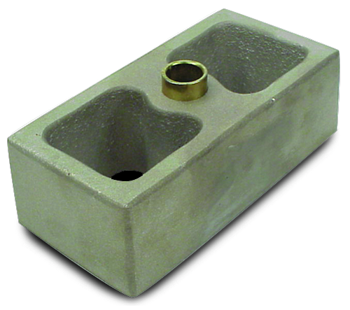 Aluminum Lowering Block Standard 3 Inch Tall