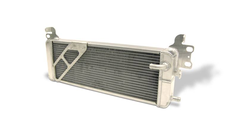 Aluminum Satin  Heat Exchanger 2007 - 2012 Shelby GT500 Double Pass