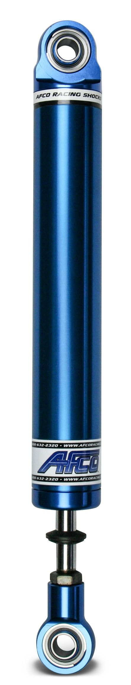 Aluminum Shock Twin Tube 16 Series Small Body 6 Inch Comp 3/Reb 1 Smooth