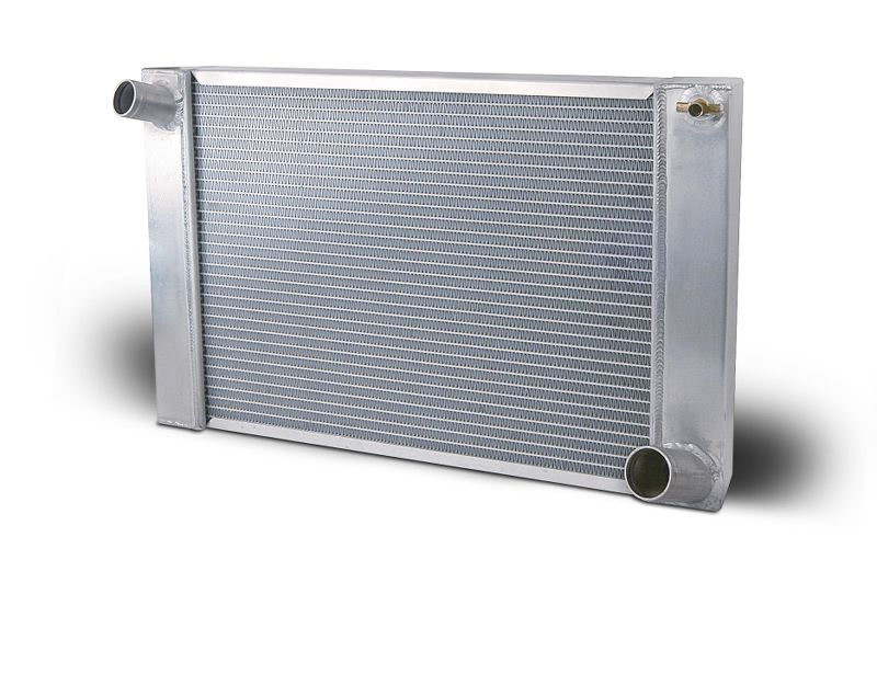 Aluminum Radiator Pavement Modified  23 Inch Single Pass Chevy