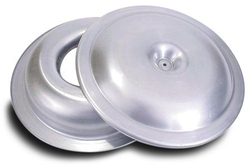Aluminum Sure Seal Air Cleaner Housing Assembly  14 Inch Diameter, Top and Bottom