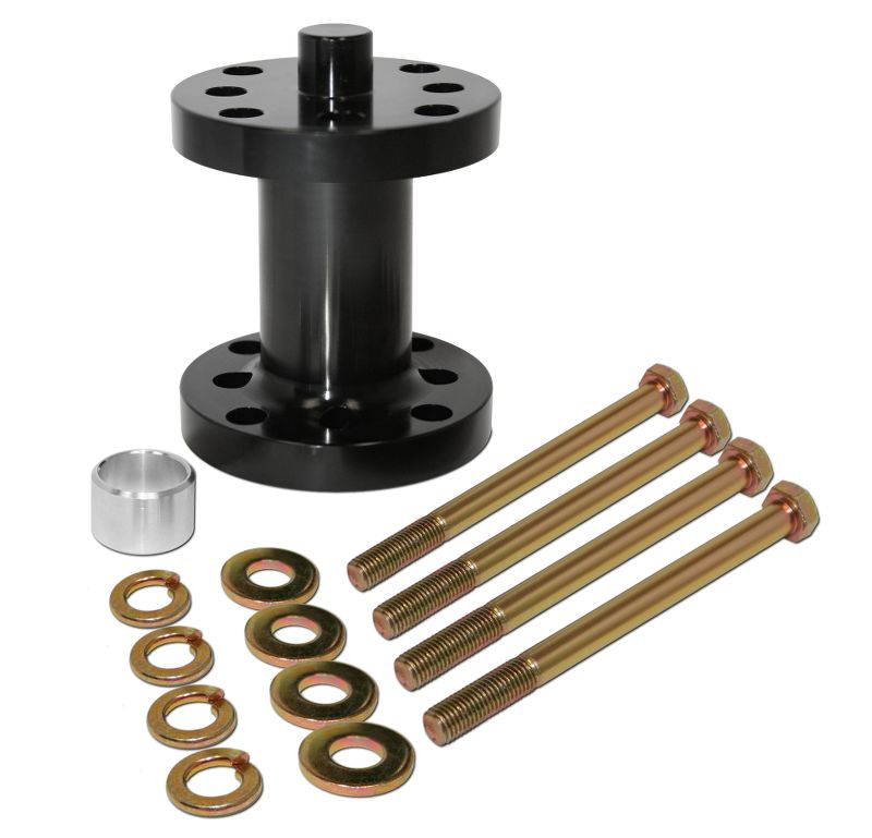 Aluminum  Fan Spacer Kit  3 Inch  Fits 5/8 Or 3/4 Drive  Comes With Bolts, Bushings, & Washers