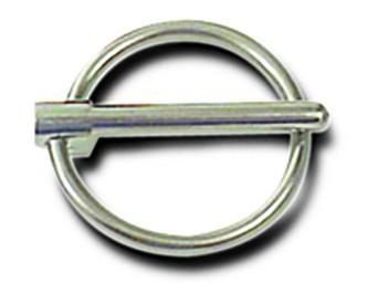 Steel Hood Pin Flip Clip 3/16 Inch Wire Diameter