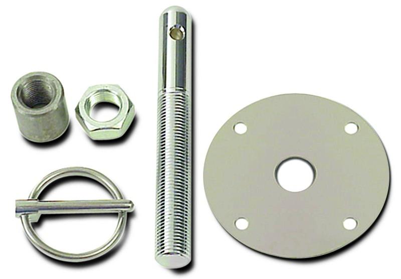Steel Hood Pin Kit 3/16 Inch Clip