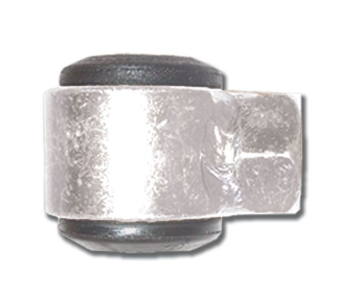 Steel  Eye ring Assembly With Rubber Bushing  1/2 Inch Thread  Small Body