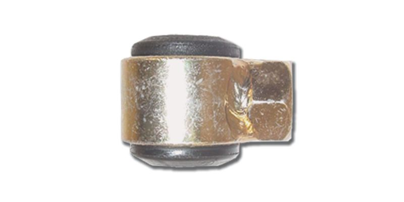 Steel  Eye ring Assembly With Rubber Bushing  9/16 Inch Thread  Big Body