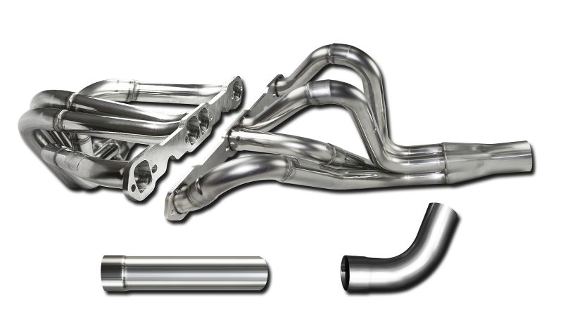 Header Kit 604 Crate Chevy  1.625 - 1.75 Inch  3.00 Inch Collector  304 Stainless  Steel