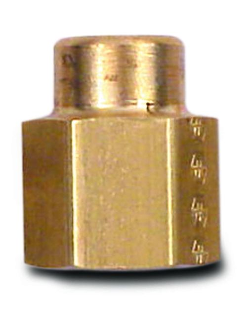 "Brass Fitting 1/8"" Fp  To 1/4"" Fp"