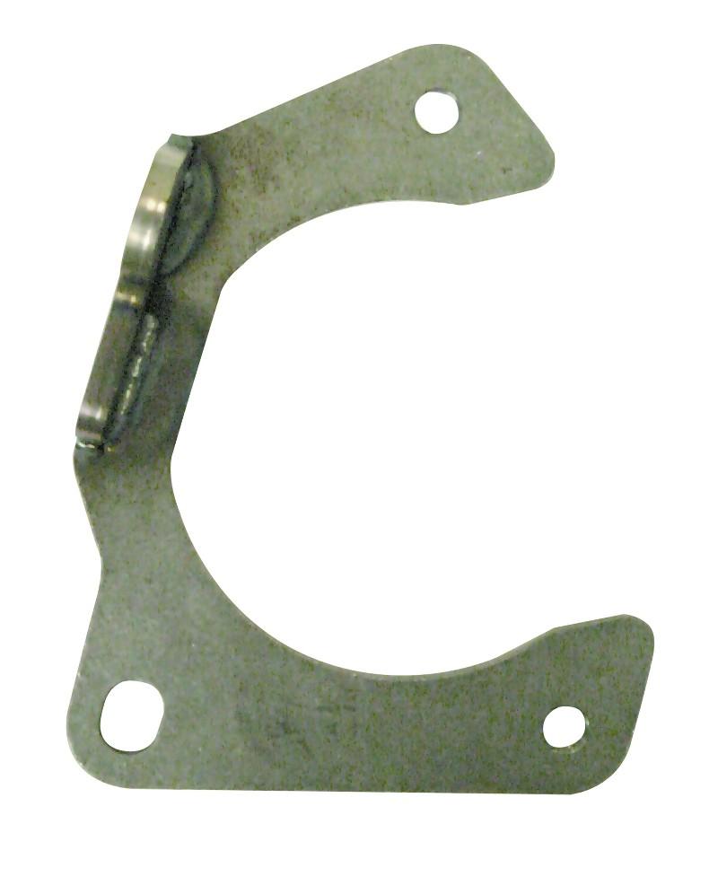 Steel GM Metric Caliper Bracket  Pinto Spindle  Hybrid Rotor Left Hand