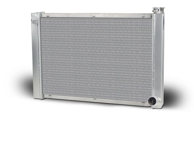 "Aluminum Radiator Single Row 1.25"" Tube With 16AN Inlet Lightweight"