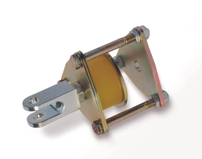Suspension Limiter Urethane Bushing Type 1/2 Inch Rod End Mount