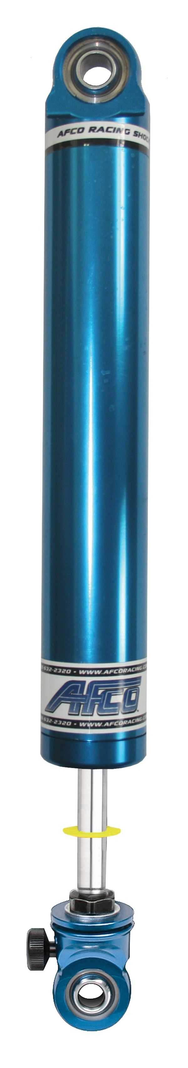 Aluminum Shock Twin Tube 16 Series Small Body 6 Inch Comp 2/Reb 2-5 Smooth