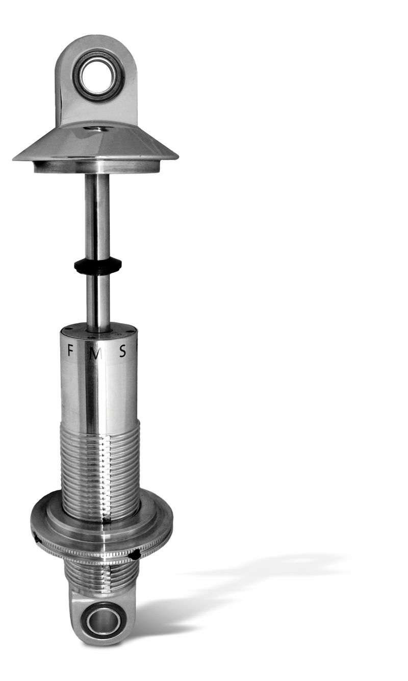 Aluminum  Shock  Small Body Threaded  ASB/SR Series    3 inch  Coil-Over 3-Position Rebound Adjustable