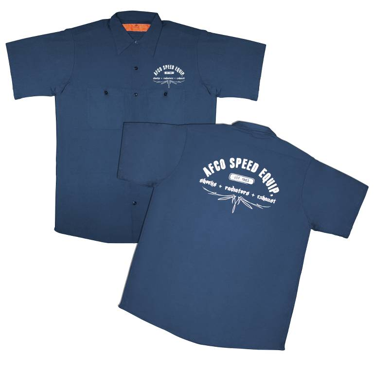 Work Shirt  Navy  L