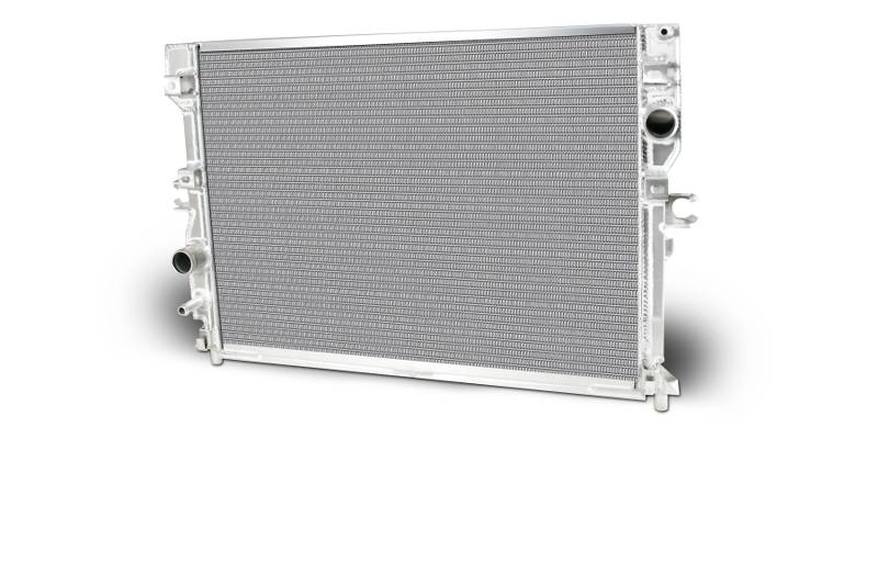 Aluminum Radiator 2014-2015 C7 Corvette Radiator Direct Fit Polished