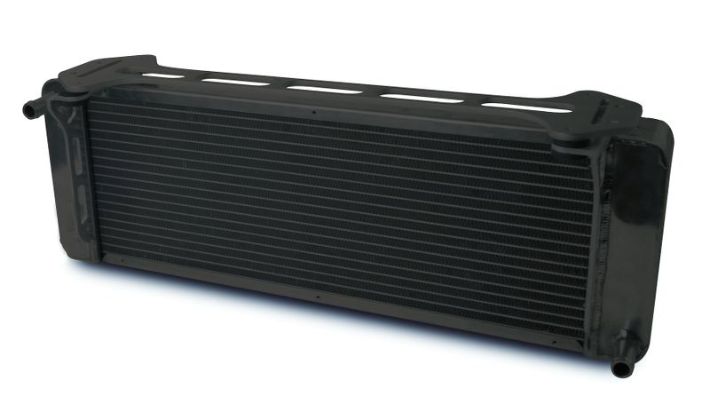 "Aluminum Black  Heat Exchanger  1999-04 Ford Lightning/F150    Single Pass  (L - 26-3/8"") X (W - 3"") X (H - 8-7/8"")"