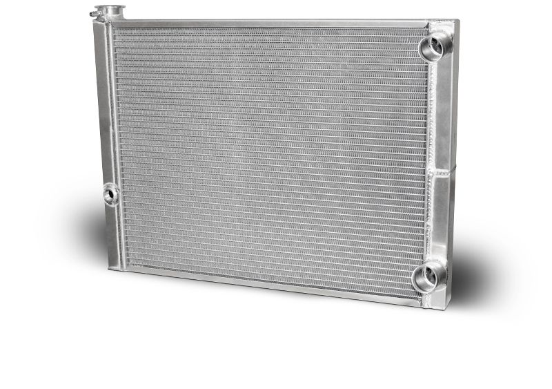 Aluminum Double Pass Radiator 26 X 19 X 1.50 Core, 1.50 Inlet