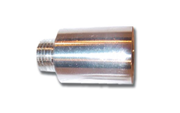 Aluminum   1 Inch Shock Extension  1/2 Inch Thread  Small Body