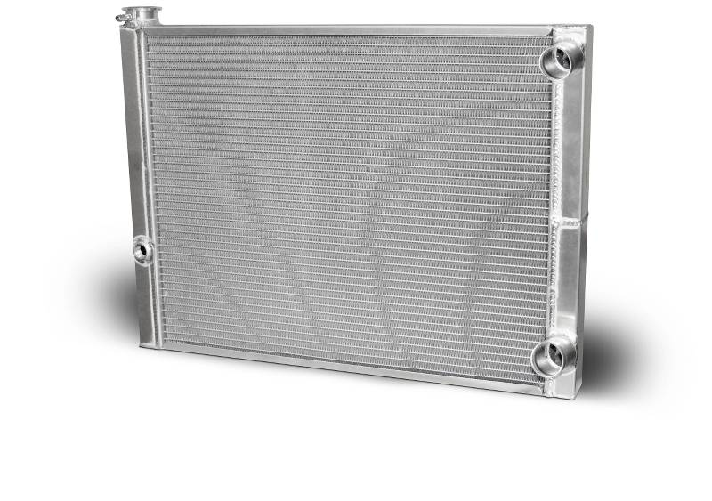 Double Pass Radiator Chevy 27.5 X 19 X 1.50 Core Standard 1.50 Inlet