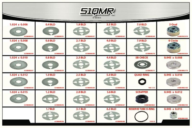 51 Series  Quarter Midget Shock  Rebuild Component Kit