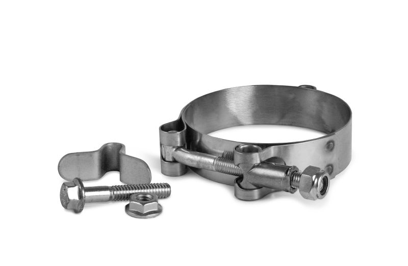 Clamp Collar  3.50 Inch  Includes U Tabs   And Bolts      304 Stainless Steel