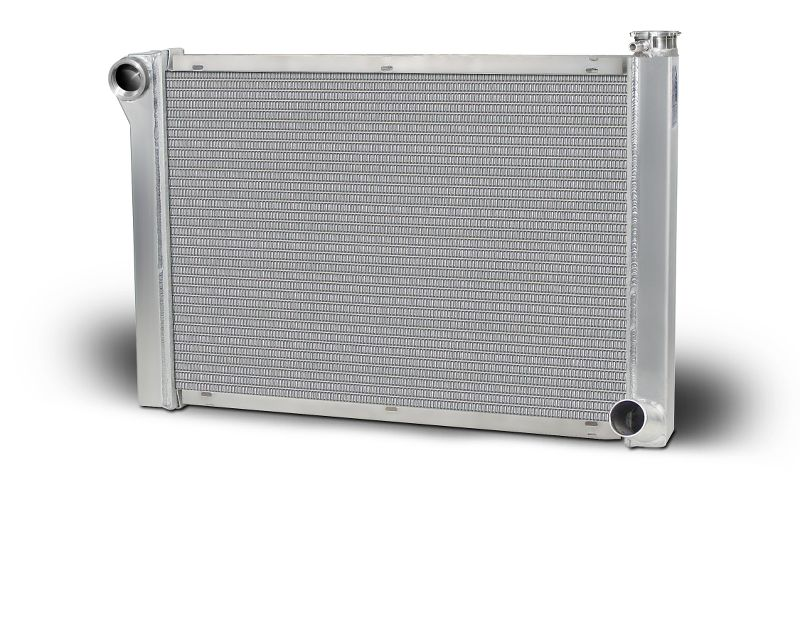 "Aluminum Radiator Single Row 1.25"" Tube With Universal 20AN-F Inlet Lightweight"