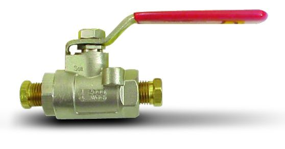 Stainless Steel Ball Brake Shut-Off Valve