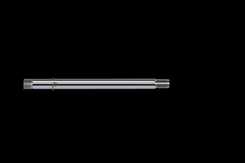 "Shaft, .500"", non-adjustable 5"", shaft drilled to accept jet. Fits 64-73-74-75-76-77-78 series shocks"