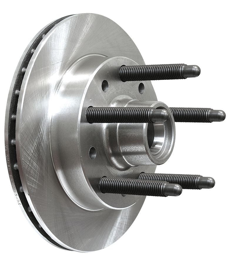 5/8 Inch Coarse Studs On 5 X 5 Pattern  Long Stud Hybrid Rotor