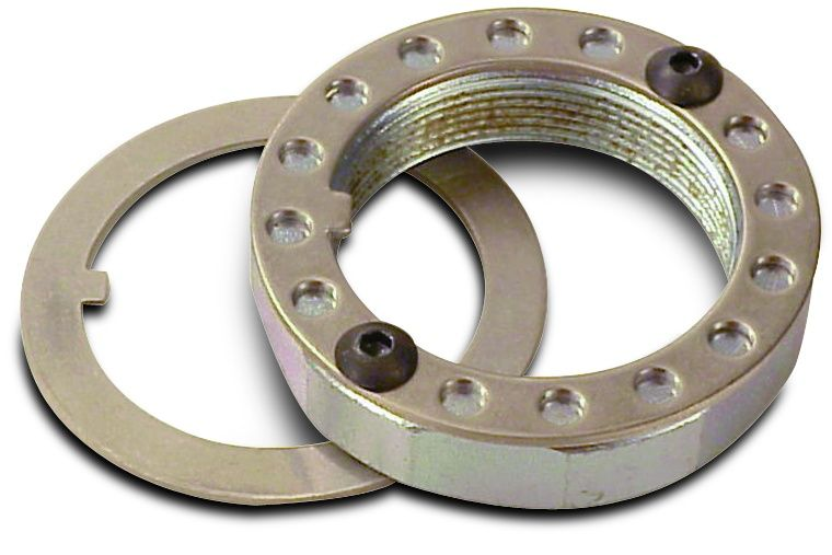 Spindle Lock Nut Kit 3/4 Ton Steel