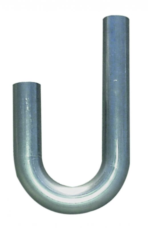 J Bend  1.625 Inch O.D.  12.00 Inch Leg   On One Side  6.00 Inch Leg   On The Other  Mild Steel