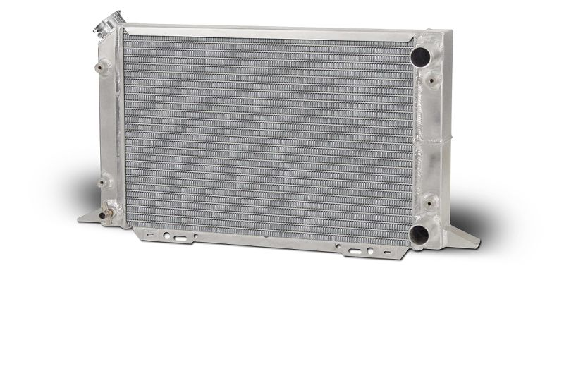 Aluminum  Radiator  Sirocco  Right Hand  Double Pass  1-1/4 Inlet  1-1/4 Outlet