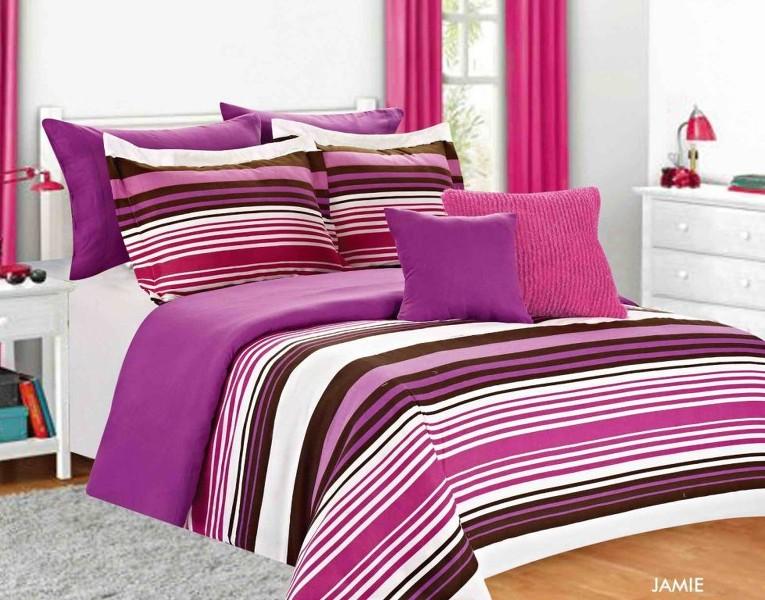 Girls Kids Bedding - Jamie Comforter Set Multi Color