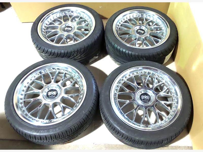 SSR Schwarz VS Alloy Rims wheels 18x8J 9J 5x114 S15 RX8 350Z MR2