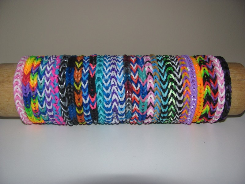 how to make a fishtail friendship bracelet with rubber bands