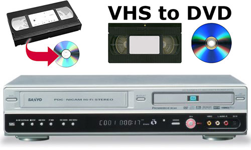 vcr to dvd converter machine