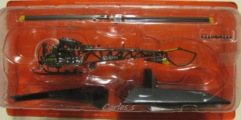 Details about Bell Sioux 47 AHJ MK1 USA 1/72 ALTAYA IXO Helicoptero
