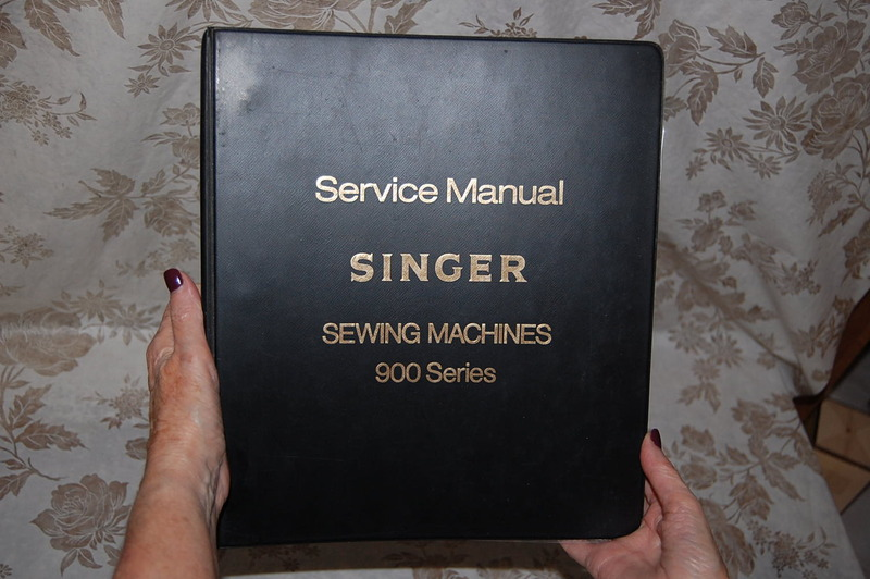 Professional Service Manual On Cd For Singer 900 And 920 Futura Sewing Machines