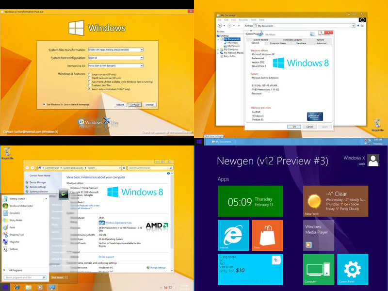 Windows 8 Transformation Pack v8.0