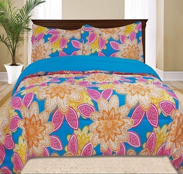 Kids Girls Bedding- Bellvue Comforter Set Multi Color