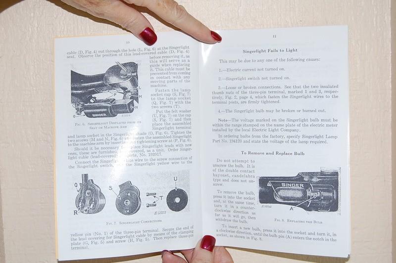 Singer Featherweight 221 221k Sewing Machines Adjusters Manual  Timing  U0026 Service