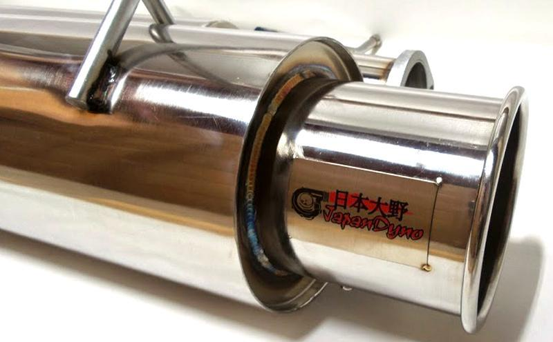 JapanDyno Γ-To catback exhaust 180sx S13 PS13 SR20 CA18