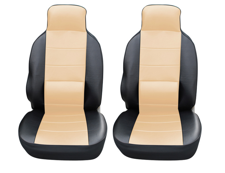 Leather Like Car Seat Covers With Lumbar Support For Buick