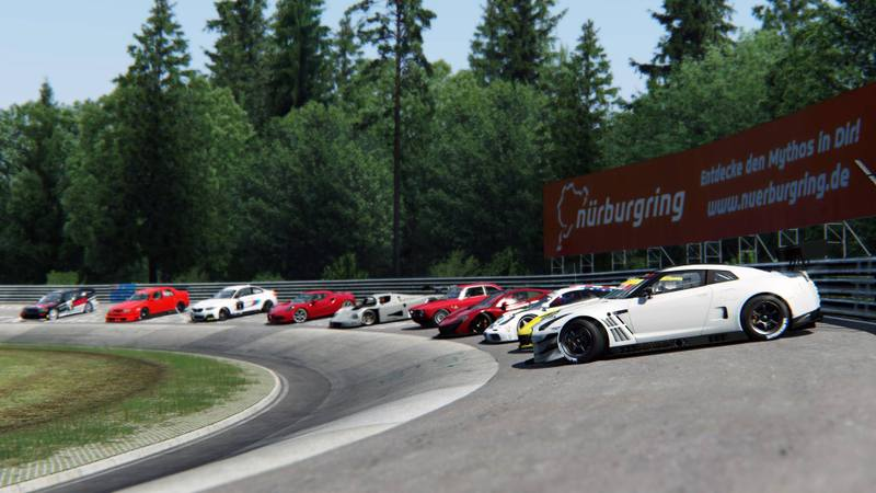 Assetto Corsa Dream Pack Cars on the Nordschleife  n7thGear motorsport news autosport news sim racing news racing F1 Wec IndyCar OpenWheelers