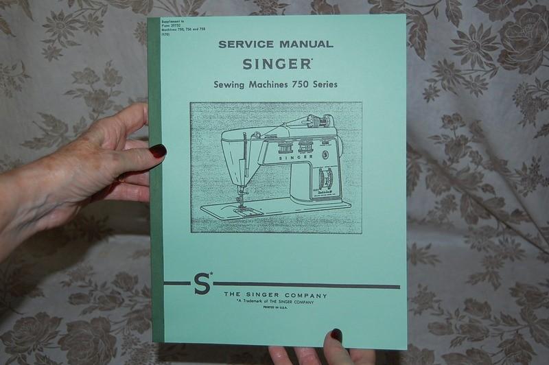 singer 750 sewing machine