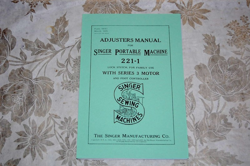 Singer Featherweight 221 221k Sewing Machines Adjusters